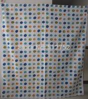 New Zen pebble stones and flowers Bathroom Fabric Shower Curtain 180x200cm bath curtain bath screen waterproof w/ shower hooks
