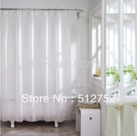 PEVA Bath shower curtain Liner 180x180cm 6mm thickness,anti-microbial,mould proof waterproof hotel peva liner