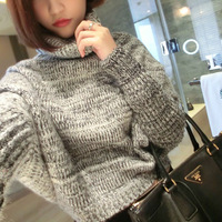 The UK exclusive design turtleneck collar sweater on two high quality YM1176