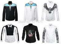 Men/Women Fall Brand Harajuku Desigual Long Sleeve Collared Shirt Blouse SWAG Medusa Religion Egypt 3D Shirt Galaxy Tops
