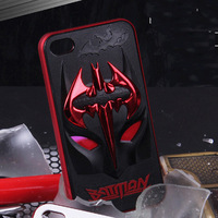 cool 3D Batman The Avengers case cover  For iPhone 4/4S 5/5S mobile phone Accessories protector dumper cases