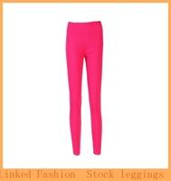 Free Shipping 2014 Casual Sports Full Length Leggings Women's Slim Pencil Pants Pure cotton elastic