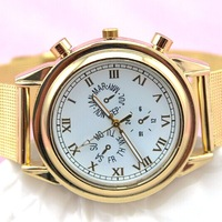Metal stainless Net Band Watches gold strap For Ladies Dress Wristwatches New Arrivals , DHL ship