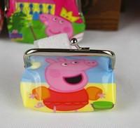 12pcs Peppa Pig Coin Purse Children Coin Purse Mix Styles Size 8cm*8cm