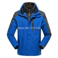 2014 New Model Waterproof Breathable Garments Couples Thermal Wear Outdoor Jackets Style Ski-Wear Suit Winter Jacket Men