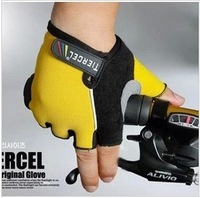 Breathable Gloves Non-slip And A Half Finger Gloves Outdoors Riding Mittens