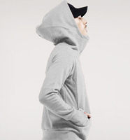 New 2014 Autumn Men's Fashion Clothing hoodies Add wool fleece hooded coat Leisure joker hoodies men