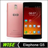 New arrival!Elephone G5 Mobile Phone 5.5 inch IPS 1280*720 MTK6582 Quad Core 1GB RAM 8GB ROM Dual Camera 13.0MP GPS OTG FM WIFI