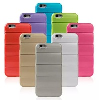 Newest Design Body Armor Series Soft TPU Clear Back Case For iPhone 6 Plus 5.5 inch, 8 color, 50pcs/lot by DHL Freeship