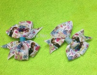 Wholesale - Frozen Hair Bow Clips Princess Elsa & Anna Children Birthday Gift 20pcs/lot IN STOCK