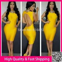 Blackless Sexy Vestidos Sleeveless Women Party Evening Dresses Bodycon Casual Dress Free Shipping