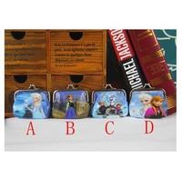 12pcs Frozen Coin Purse Children Coin Purse Mix Styles Size 8cm*8cm