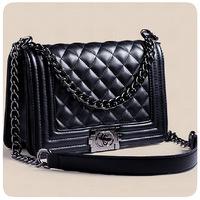 Retro shoulder cross bags chain female bag leather handbags women messenger bags  famous brands women clutch crossbody bag