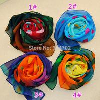Free shipping 100pcs/lot New arrival ladies fashion check print scarf plaid print scarf for women/ladies