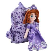 New Arrival Princess Sofia Backpack Children Cartoon Heart Sofia Doll Kis Student School Bag Mochila Infantil