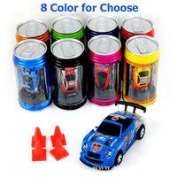 2PCS MINI Coke  Mini RC car Radio Remote Control drift Car electric Micro Racing Vehicles Toy FREE SHIPPING