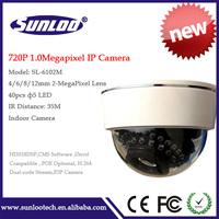 High Quality HD 720P IP Camera 1.0 MegaPixel ip camera  P2P CMOS LENS and IR Cut 720p(1280x720)
