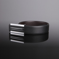 2014 [BECOLA] Fashion black and white colors belts for men durable and Leisure mens belts luxury belt  BR-886