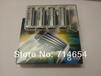 M3 New box!! (16pieces=2packs/lot) Hot sale Men's Shaving Razor Blades Men shaver razor high Quality Blade Standard for RU&Euro