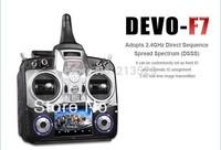 Walkera DEVO F7 Kit+Battery+5.8G Transmitter+DV04 Camera+FP Convertor Combo B Support FPV Function