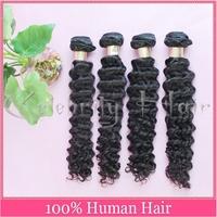 6A wholesale loog deep wave brazilian hair extensions 1b#1#2#4#6# 8-32inch