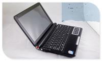 Mini laptop computer 10.2inch small notebook  Intel atom Dual core W/option 4GB RAM 500GB