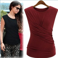 summer 2014 newfashion blouse exclusive celebrity inspired style shirts innovative cotton O-neck blouse tops shirts
