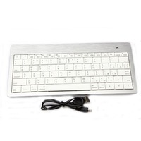 2.4G Mini Bluetooth version 3.0 Wireless Metal PC Russian Keyboard with Tablet PC 85798