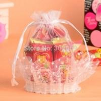 Beautiful Lace favor bag organza gift bag for wedding