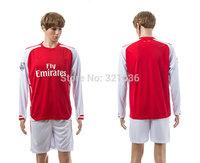 High  Quality   podolski   Ozil   Long Sleeve   2015    Soccer Jerseys      Football  Kit  Free Shipping