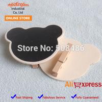 Free Shipping 30 Pieces Bear Mini Blackboard Peg for Wedding