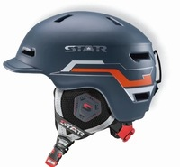 Free delivery of 2014 new 10 vents ski helmet Unisex skiing ski protective helmet various styles can be selected