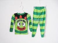 In Stock! Boys Cotton Pajamas, Children Gabba prints sleepwear kid soft cartoon suits 7sets/lot d201