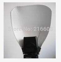 10ps Foldable portable camera flash diffuser soft box softbox soft box photography studio 430ex 580ex 600ex sb600 sb800 sb900