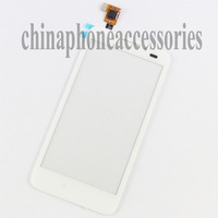 repair part New Touch Screen Digitizer Glass For Alcatel One Touch Fierce 7024W White+ tools