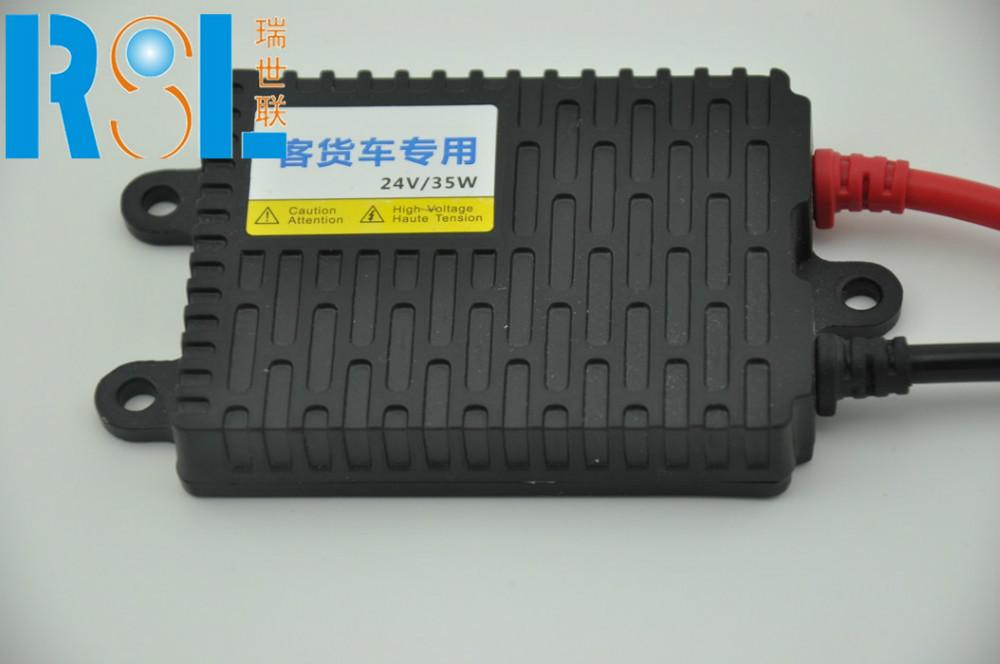 AC ballast for bus/truck HID xenon light 24V 35W black(China (Mainland))