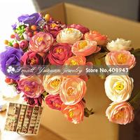 Bohemia flower headband Wedding Bridal hair accessories Artificial garland Fashion Flowers wreath For Baby Girl Children/DZ-2734