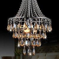 Free shipping New arrival modern design Modern Luxury Elegant crystal chandelier light lustre flush mount pendant