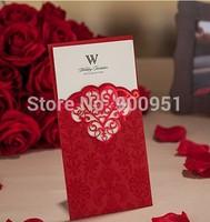 2015Teda CW2009 Laser Cut Wishmade Wedding Invitation Cards Sleeves