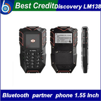 NEW phone arrival !! Discovery Bluetooth partner phone lemu LM138 MTK6572 Dual Core Dustproof Shockproof WaterProof/Eva
