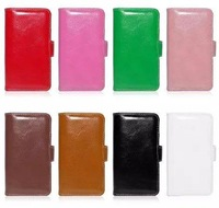 """100pcs free shipping  Wallet Flip PU Leather Phone Bag Case With Credit Card For Apple iPhone 6 6G 4.7"""""""