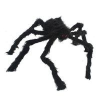Terrorist big spider, 120 cm, trick toys, bars, dance decoration; Halloween, Christmas prop 95706