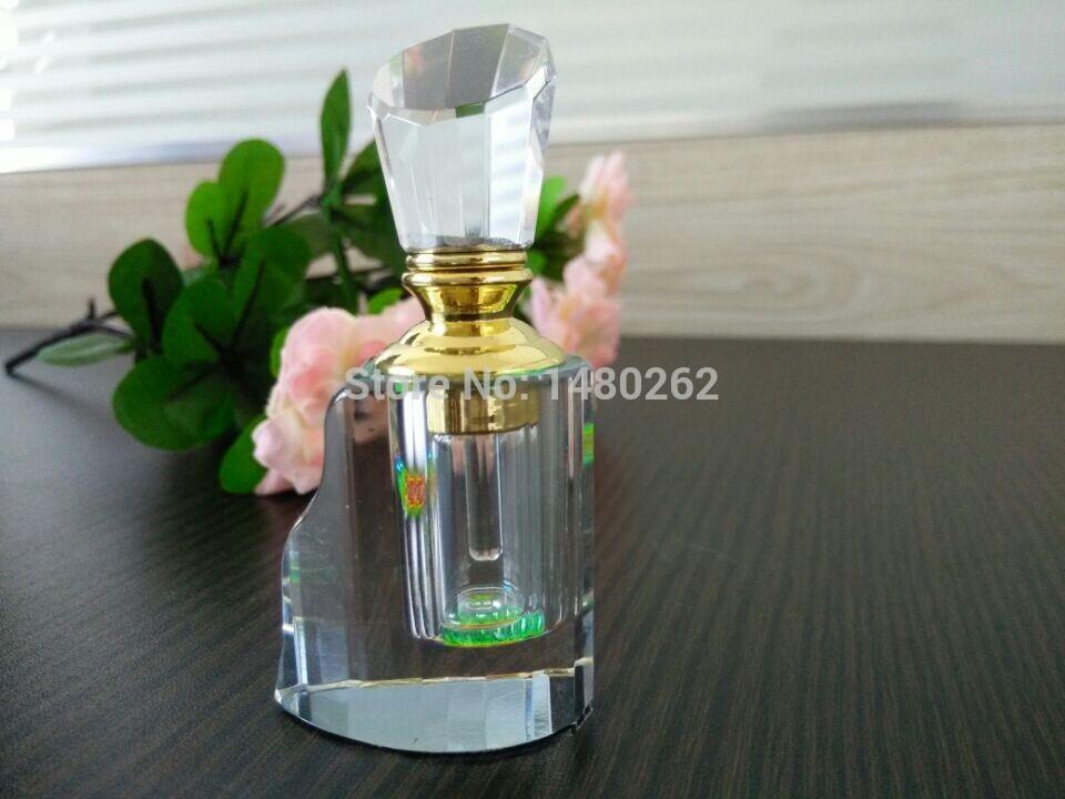 Free shipping Upscale Empty Perfume Crystal Bottles Fragrance Refillable Bottle Unique Design Crystal Perfume Bottles(China (Mainland))