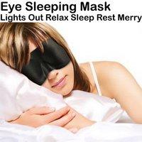 5000pcs/lot Sleeping Eye Mask Protective eyewear Eye Mask Cover Shade Blindfold Relax