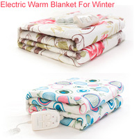 Electric blankets Warm Blanket for winter 150*70cm Single Bed Heaters with EU plug adapter free shipping