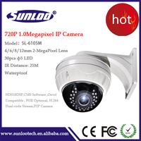 1MP Dome Camera HD IP Network cctv onvif P2P 720P IR Night vision Outdoor indoor IR Dome Security Camera