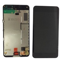 New Original LCD Display Touch Screen  with frame black  for  Nokia Lumia 630 free shipping