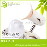 6 Pieces/lot 25W/50W/75W/100W Spectrum UVA lamp for pet sunbath 220 volt Adjustable temperature White Crawler Heating Lamp