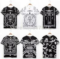 Unisex 3D harajuku tees  religious motifs  bandana KTZ religion egypt tee short Sleeve T shirt Tees