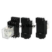 3PDT General Purpose Relay DC24V Coil w Socket 5A AC250V DC28V